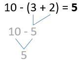 Minusklammern Beispiel 2