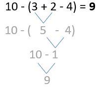 Minusklammern Beispiel 5