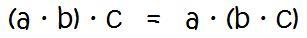 Assoziativgesetz Multiplikation